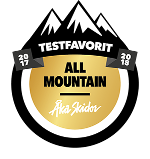 TEST FAVORIT ALL MOUNTAIN - AKA SKIDOR