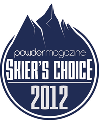 POWDER MAGAZINE - SKIER'S CHOICE