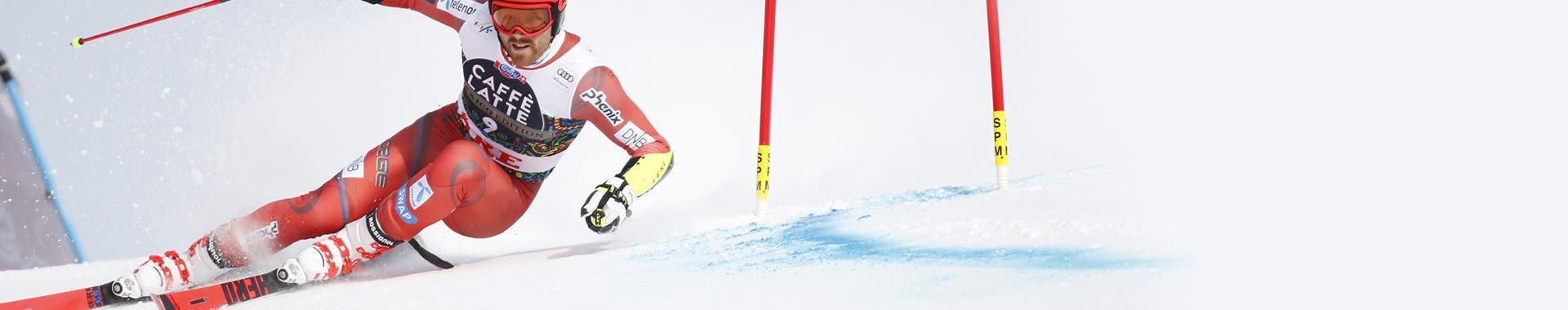 Skis racing