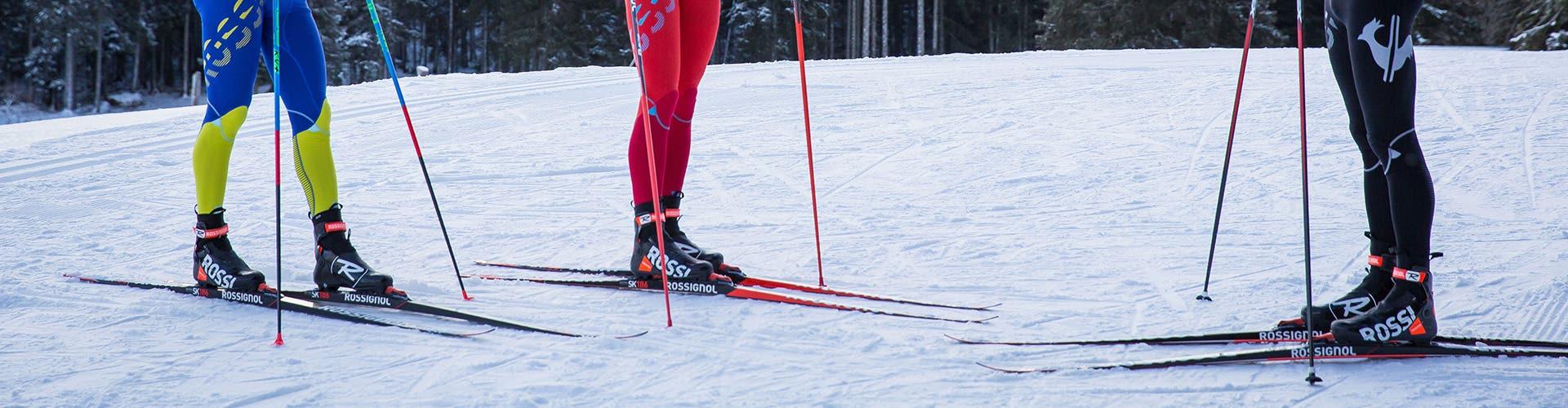Alle Langlauf Ski