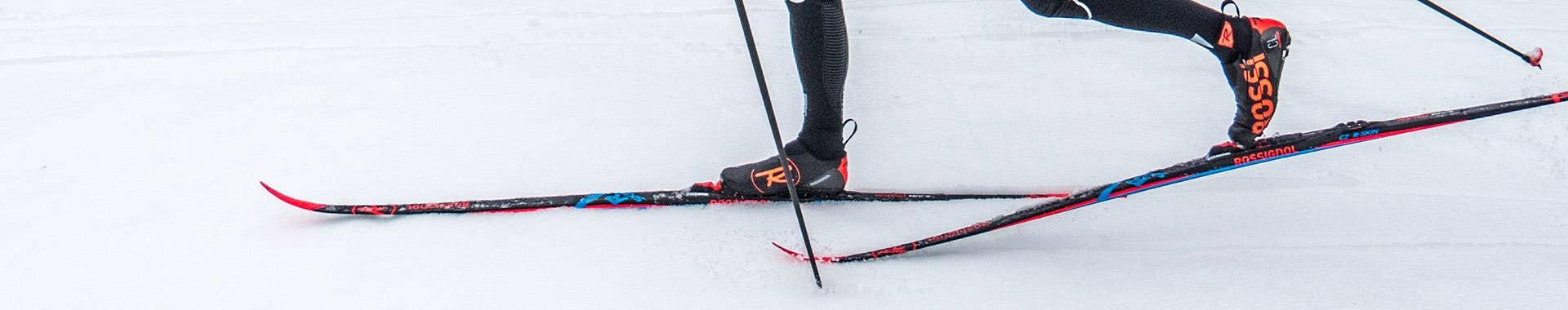 Classic ski boots