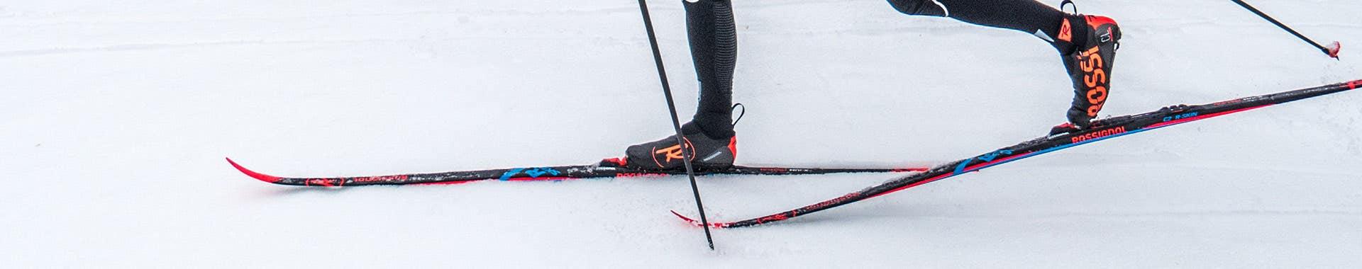 Classic skis