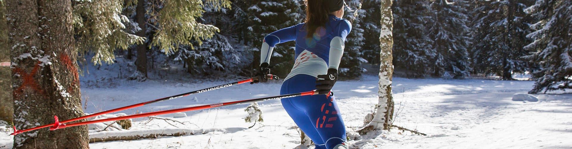 Bâtons ski de fond
