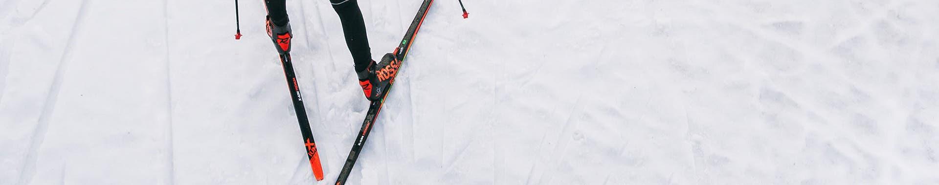 Skating skis