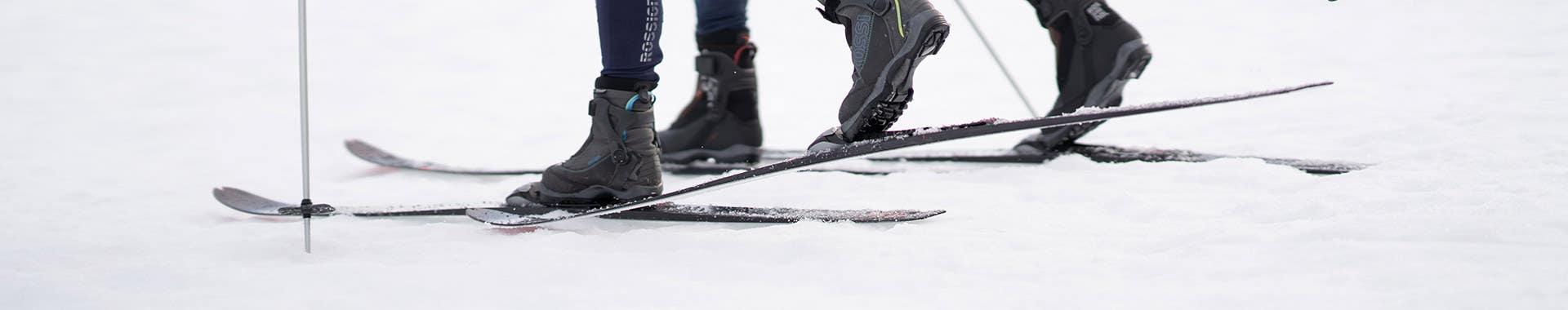 Chaussures ski de fond touring