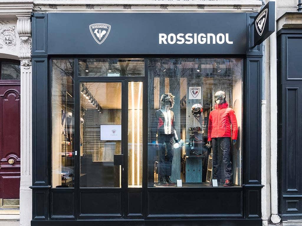 Rossignol annonce l'ouverture d'une deuxième boutique  en plein cœur de Paris, Boulevard Saint Germain