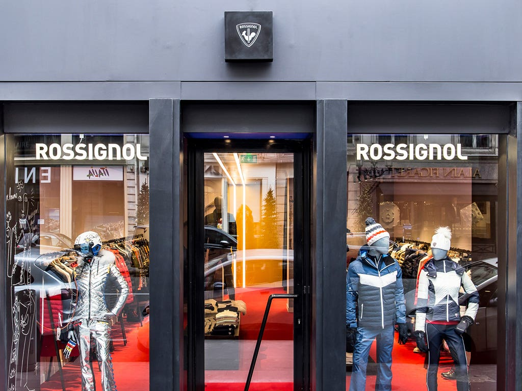 Rossignol launches the first Parisian temporary store