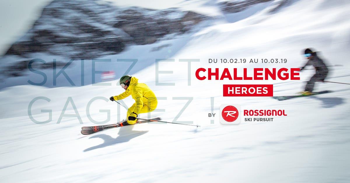 Challenge Heroes by Ski Pursuit