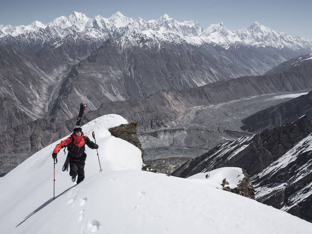 Sam Favret in the footsteps of Karakoram