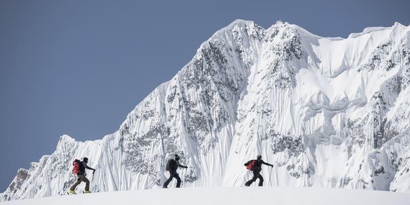 Approche du Barbara Peak, 5520m d'altitude
